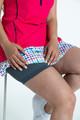KINONA Fit & Flare Golf Dress - Raspberry Red