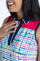 KINONA Chip Shot Golf Dress - Blurred Lines