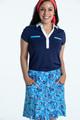 KINONA Fit & Flare Golf Skort - Crazy Daisy