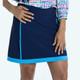 KINONA Fresh & Flirty Golf Skort - Navy/Blueberry