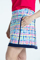 KINONA Fresh & Flirty Golf Skort - Blurred Lines