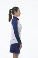 SanSoleil SolCool Short Sleeve Mock - Back9