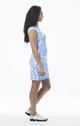 SanSoleil SolStyle Sleeveless Dress - Lazy Daisy Cornflower
