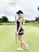 FlirTee Ruffle Butt Golf Dress - Leopard