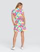 Tail Vana UV50 Short Sleeve Golf Dress - Bright Citrus