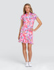 Tail Vana UV50 Short Sleeve Golf Dress - Floral Burst