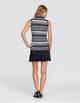 Tail Cindy Sleeveless Mock - Dash Stripe