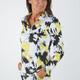 Amy Sport Katelyn Long Sleeve Top - Yellow Tie Dye