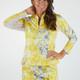 Amy Sport Katelyn Long Sleeve Top - Hydrangea