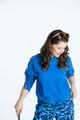 KINONA Hit The Range Hoodie - Blueberry Blue