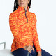 KINONA Keep It Covered Long Sleeve Mock - Hidden In Site Orange