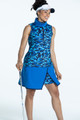 KINONA Keep It Covered Sleeveless Mock - Hidden In Site Blue