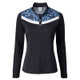 Daily Sports Smille Navy Long Sleeve Polo