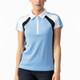 Daily Sports Roxa Cap Sleeve Polo - Alaska Blue