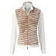 Daily Sports Franca Faux Fur Performance Jacket Knit - White