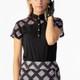 Daily Sports Ruthie Argyle Short Sleeve Mock