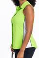 Slimming Sleeveless Splouse Polo - Grass Green