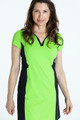 KINONA Shape Your Shot Short Sleeve Dress - Grass Green