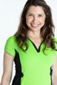 Shape Your Shot Short Sleeve Dress - Grass Green