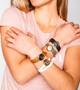 Calliope Coeur Lucky Lockets Ballmark Bracelet (Various Colors)