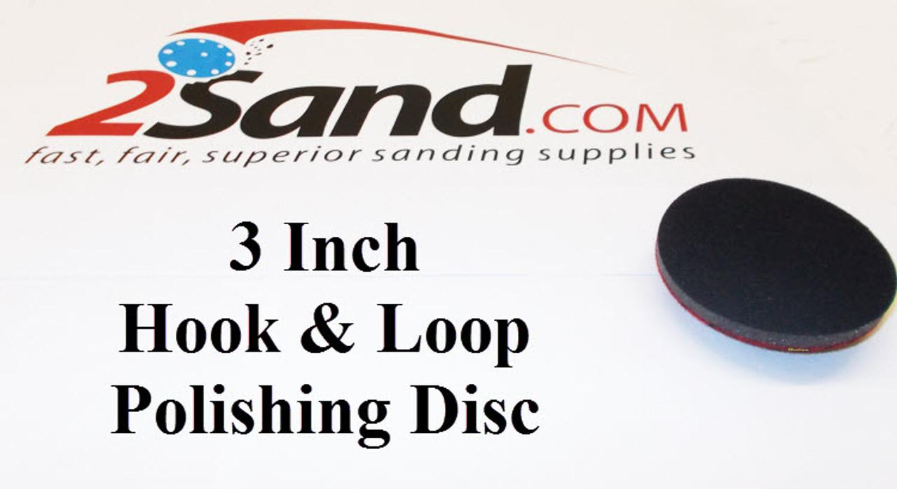 3 inch Hook and Loop Sanding Discs 25//pk 4000 Grit