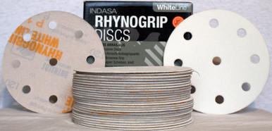 INDASA C55974 RHYNOGRIP HT LINE 75MM 3 HOLE GRIP SANDING DISCS PK50 P80