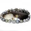 Tahitian Baroque Pearl Necklace  17 - 15 mm AAA