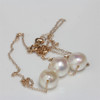 Akoya Pearl Solitaire Necklace 8.5 - 9 MM AAA
