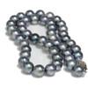 Akoya Pearl Necklace 9 - 8.5 MM AAA Black Blue