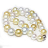 South Sea Pearl Necklace  13.5 - 11 MM Multicolor AAA-