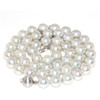 Akoya Pearl Necklace 8 - 8.5 MM AAA Silver Gray