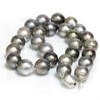 Tahitian Pearl Necklace 14 - 15 mm AAA- Soft Multi