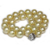 South Sea Pearl Necklace  14 - 12 MM Golden AAA
