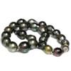 Tahitian Drop Pearl Necklace  15.5 - 12 mm AAA-