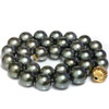 Tahitian South Sea Pearl Necklace 15 - 12 mm AAA-