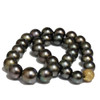 Tahitian Pearl Necklace 16 - 13 mm AAA-