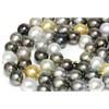 Tahitian & South Sea Opera Pearl Necklace 13 - 11 mm  AAA-