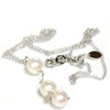 Akoya Pearl Y Necklace 14k Gold Adjustable Chain