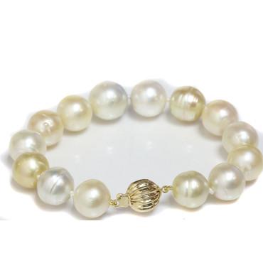South Sea Pearl Bracelet 13 - 11.5 MM Multi color AA