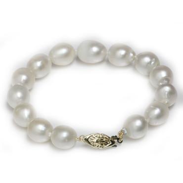 South Sea Pearl Bracelet 10.5 - 10 MM White