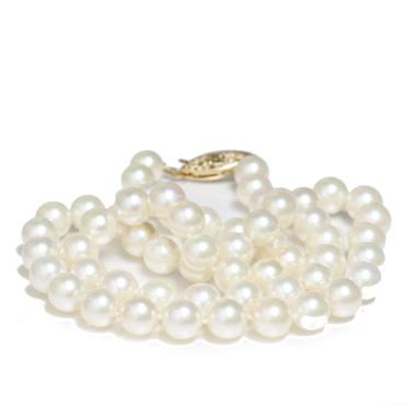 Akoya Pearl Necklace 7 - 7.5 MM AAA