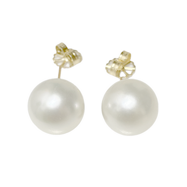 South Sea Pearl Stud Earrings 13 MM AAA