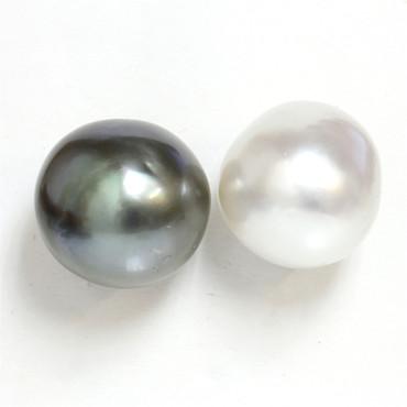 Tahitian & South Sea Baroque Pearl Stud Earrings 15.5 MM AAA-