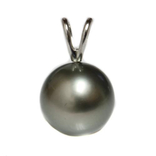 Tahitian Pearl Pendant 10 - 10.5 MM AAA Flawless