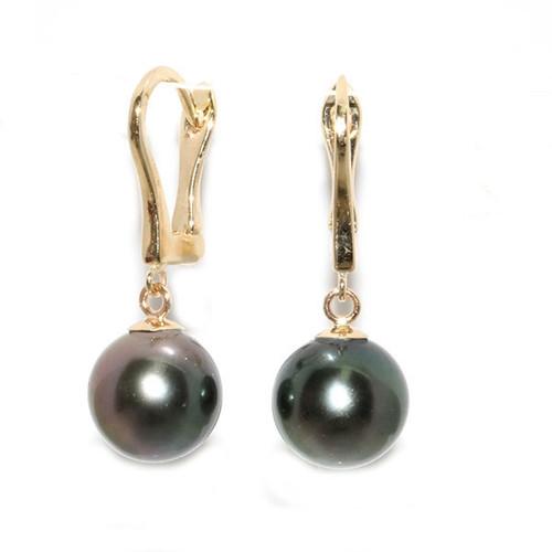 Tahitian Pearl Earrings Elegance Collection