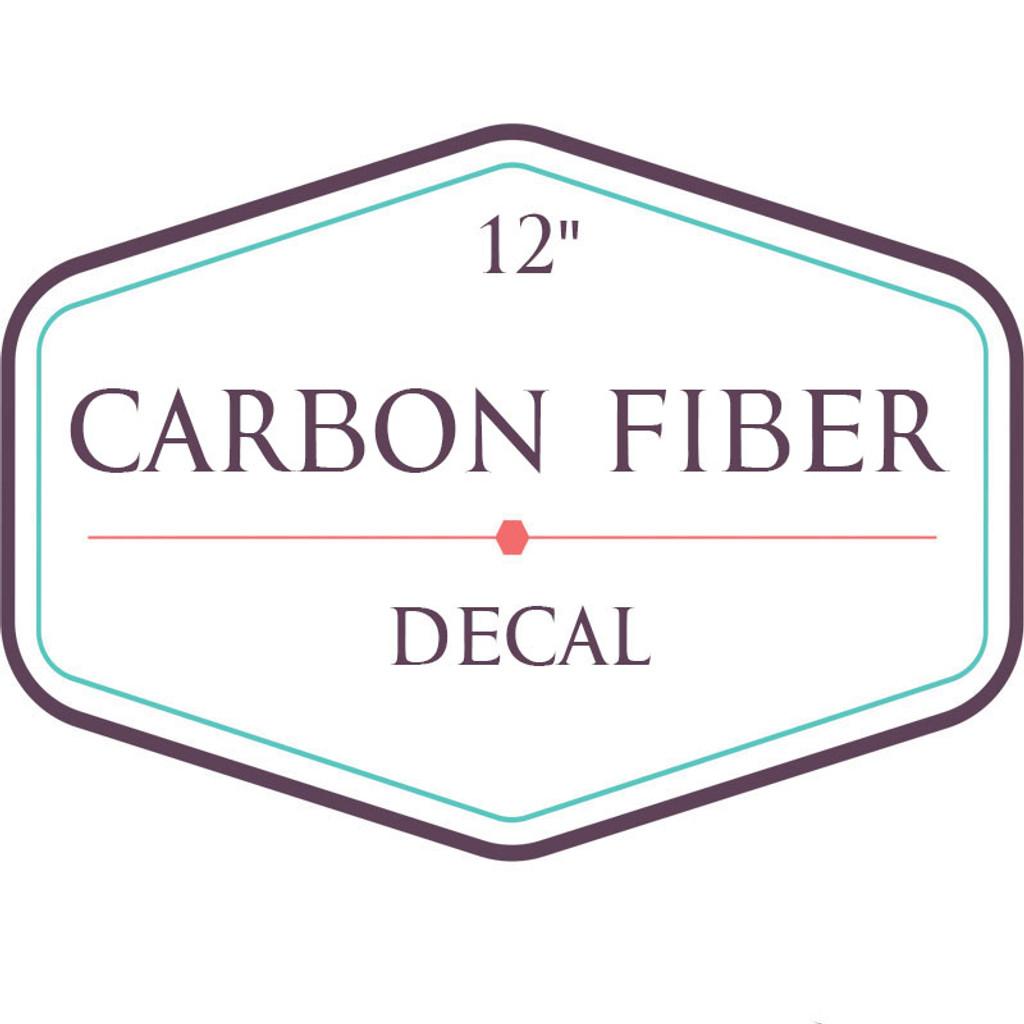 Carbon Fiber Decal