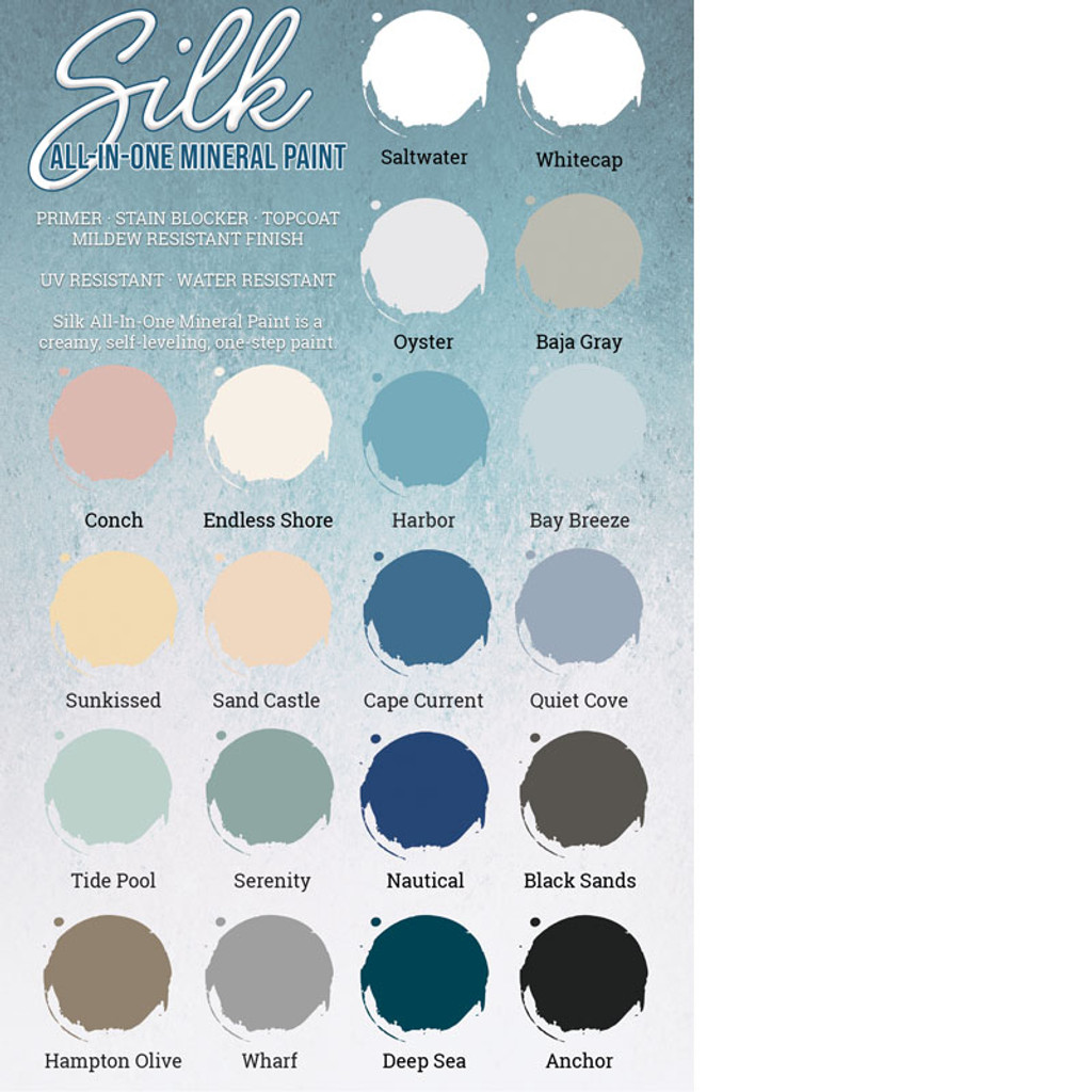 Silk All In One Mineral Paint