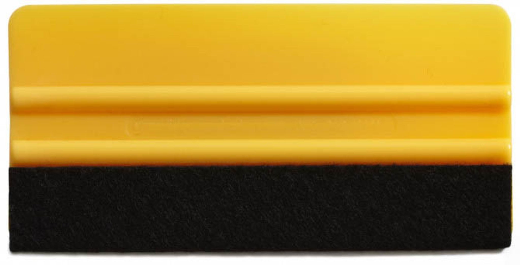 """6"""" Yellow Squeegee (With Felt)"""
