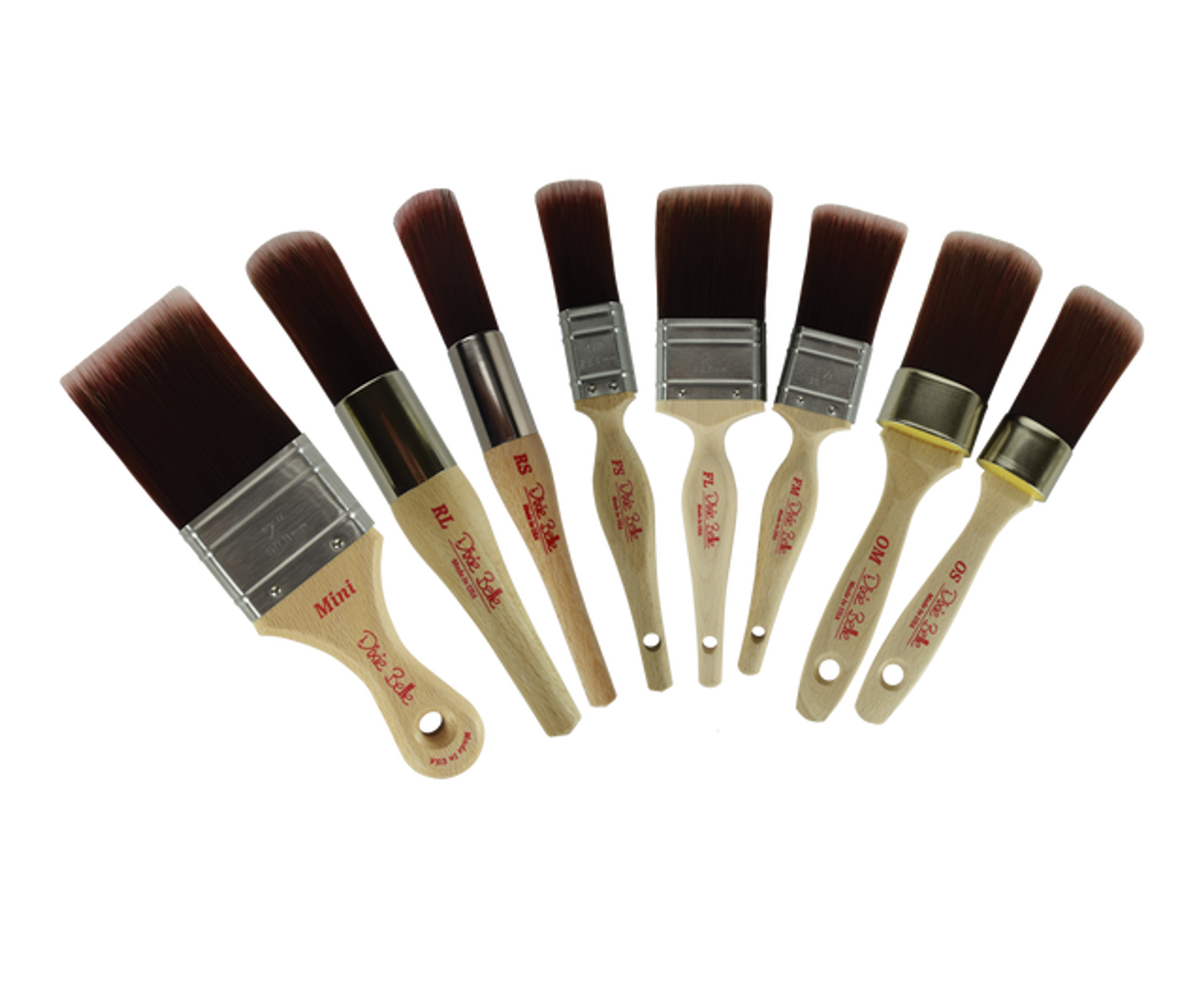 Dixie Belle Synthetic Brushes Line