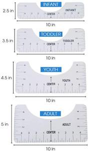 T-Shirt Alignment Ruler